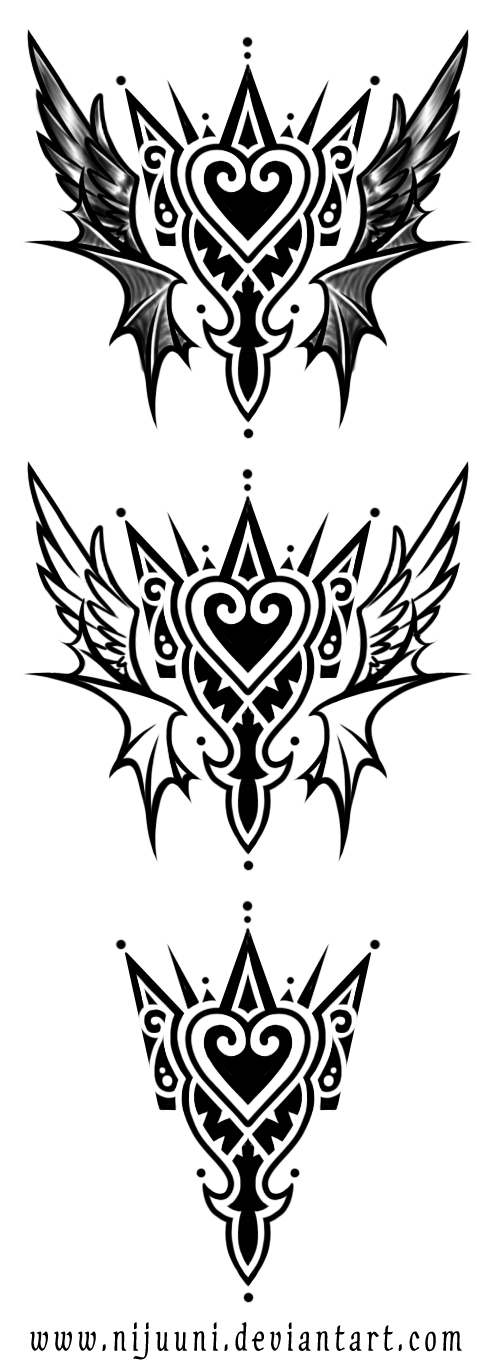 KH Emblem Tattoo by Nijuuni