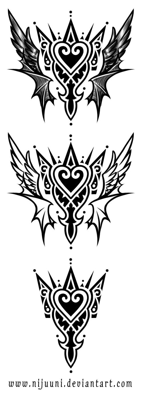 KH Emblem Tattoo by Nijuuni
