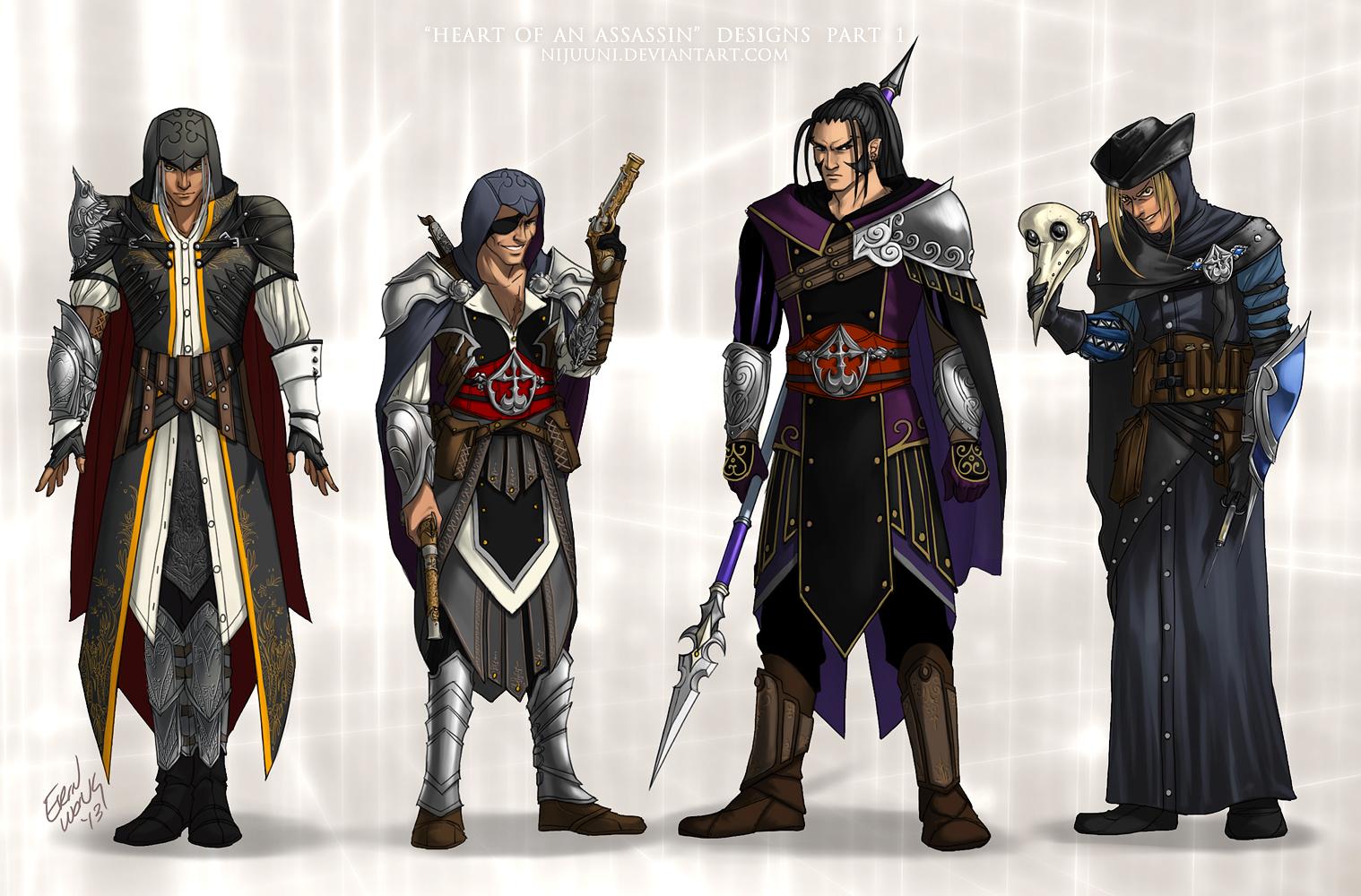 KH - Heart of an Assassin Pt. 1 by Nijuuni