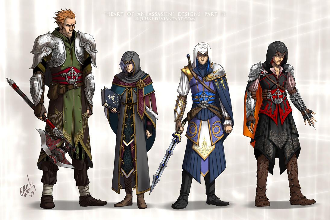 KH - Heart of an Assassin Pt. 2 by Nijuuni