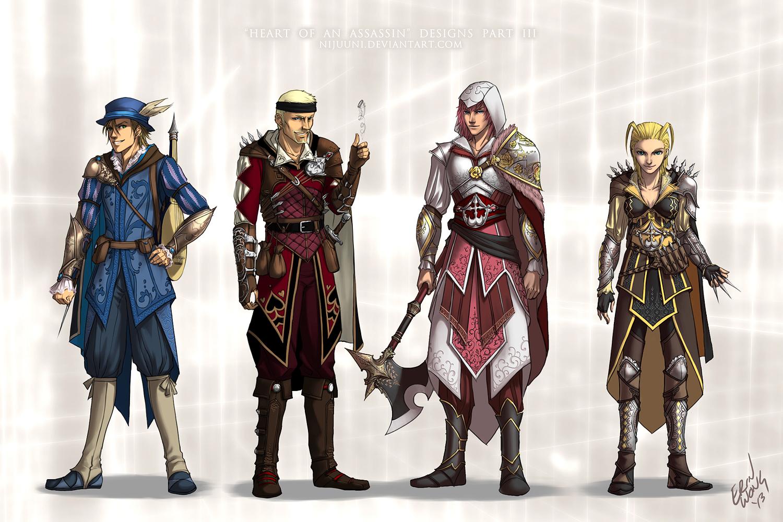 KH - Heart of an Assassin Pt. 3 by Nijuuni