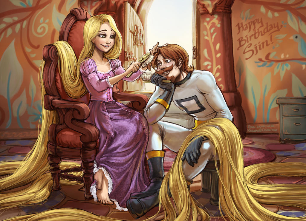 Tangled Sjin by Nijuuni
