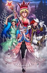 Fantasy Four (Shindan Maker)