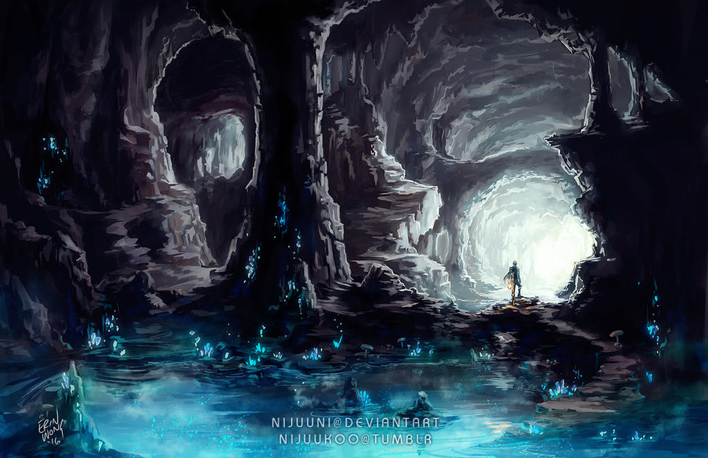 airbrushed artwork cavern concept - photo #18
