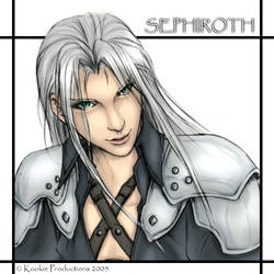 FF7 - Sephy Colored by Nijuuni