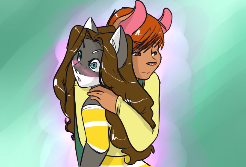 Hug by Vixcoon