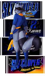 Sly Cooper by Vixcoon
