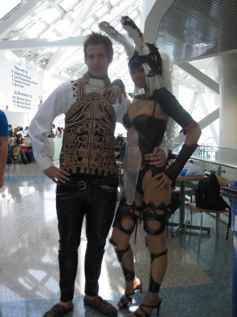 Balthier and Fran by Ippiki-Ookami01
