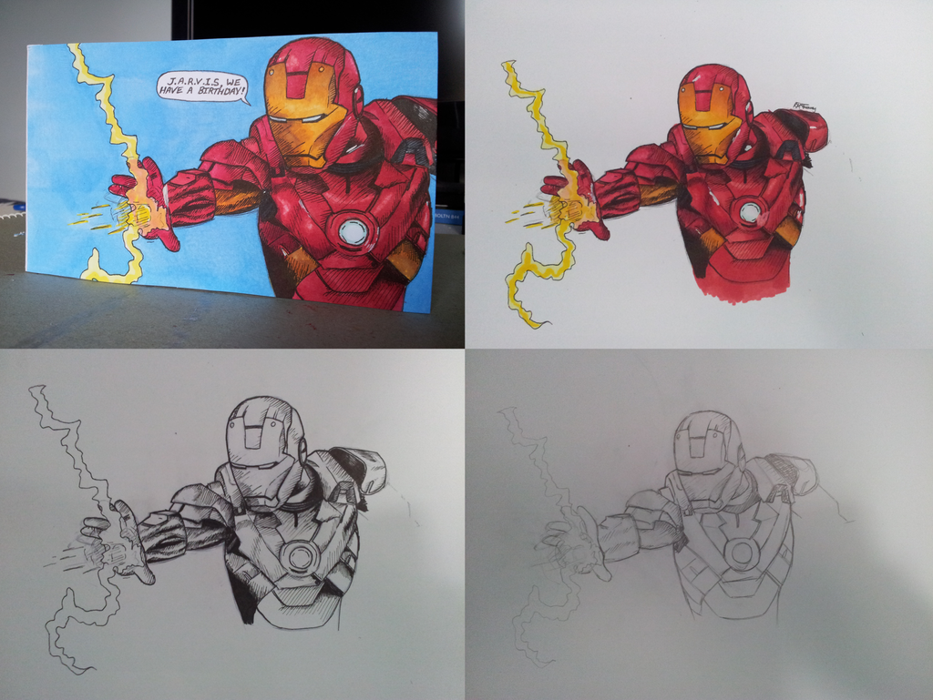 Iron man birthday card by greaveyr on deviantart iron man birthday card by greaveyr bookmarktalkfo Images