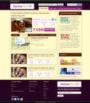 Online Deals Web 2.0 design