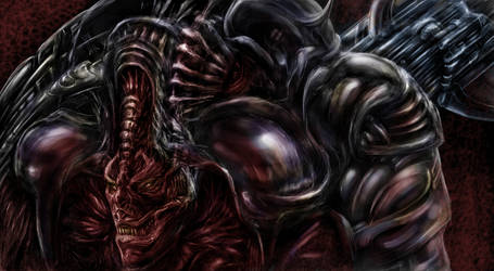 Demon Trooper by Metallart