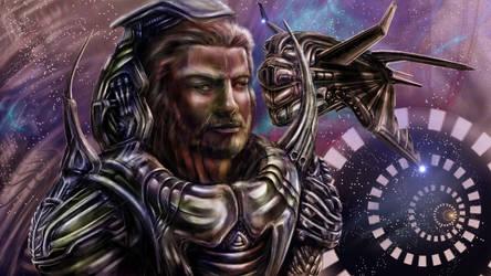 Hyperspace guard by Metallart