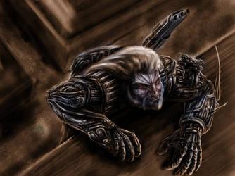 Berserker-agent by Metallart