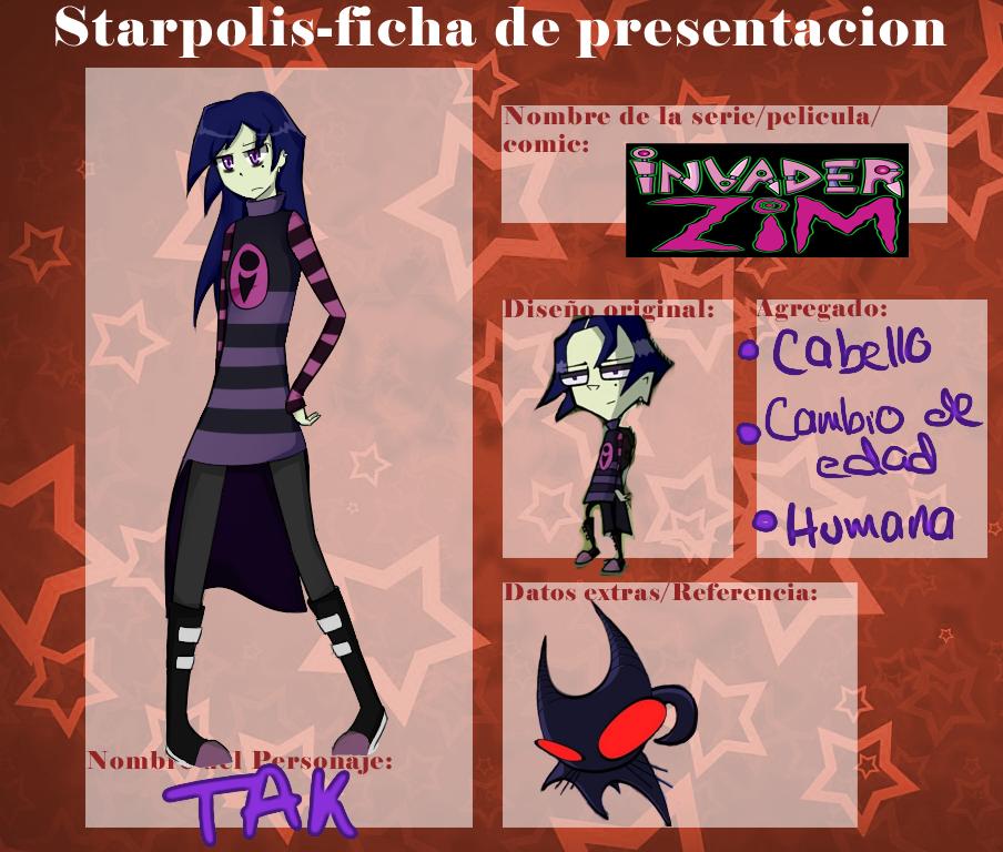Ficha, Tak - Starpolis by KasumiNightmare