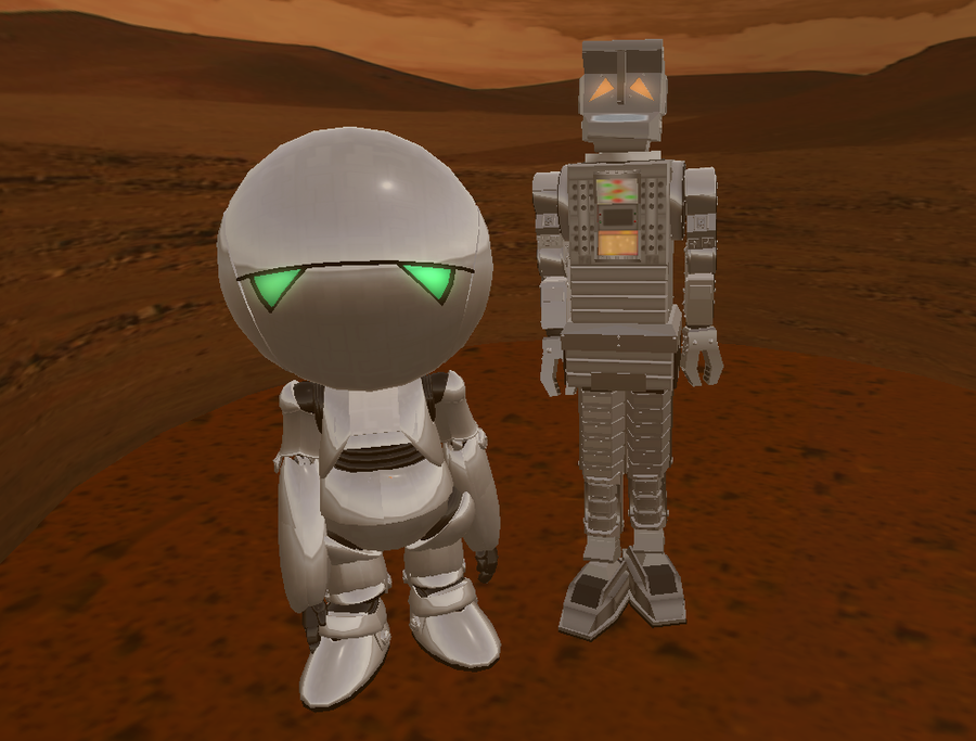 Marvin -n- Marvin on Mars by markyboy01