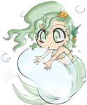 'Glam Mermaid' by Suesanne