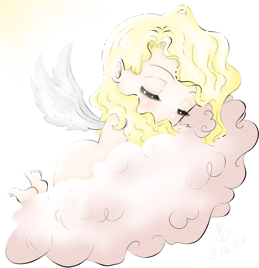 'Baby Angel' by Suesanne