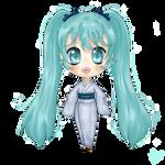 :PC: Miku in Kimono