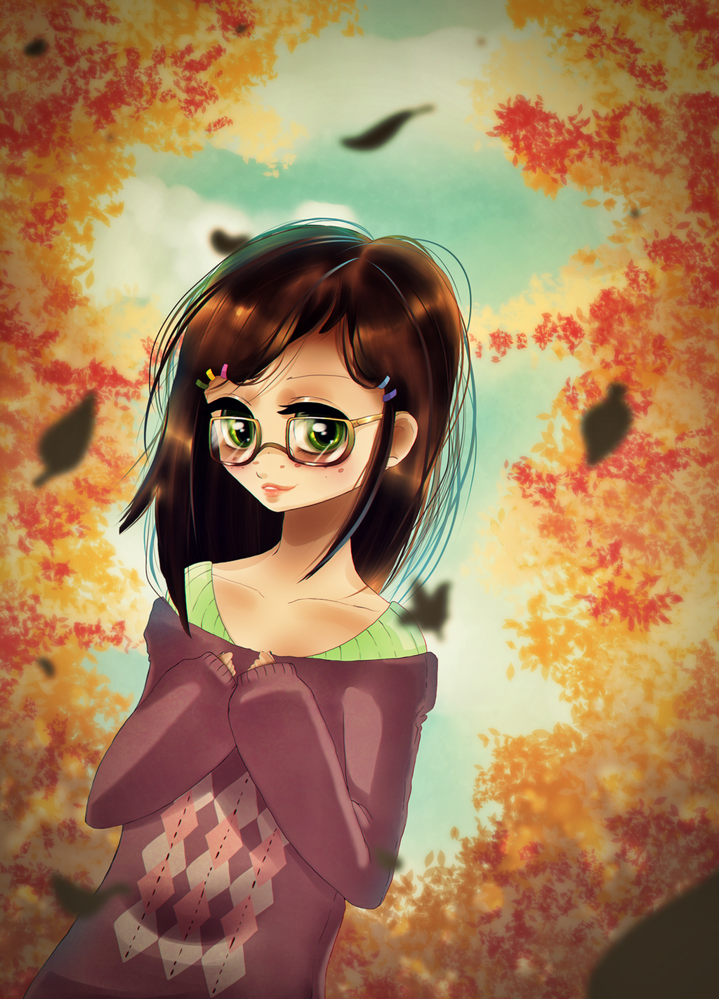 Autumn by Suesanne