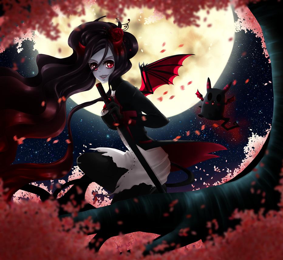 Mayu, the Vampire Girl by Suesanne