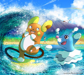 Day at the Beach by Suesanne