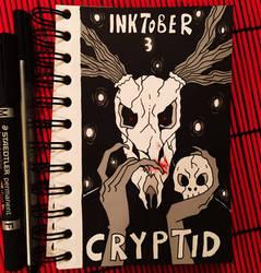 Inktober 3 Crypid by Suesanne