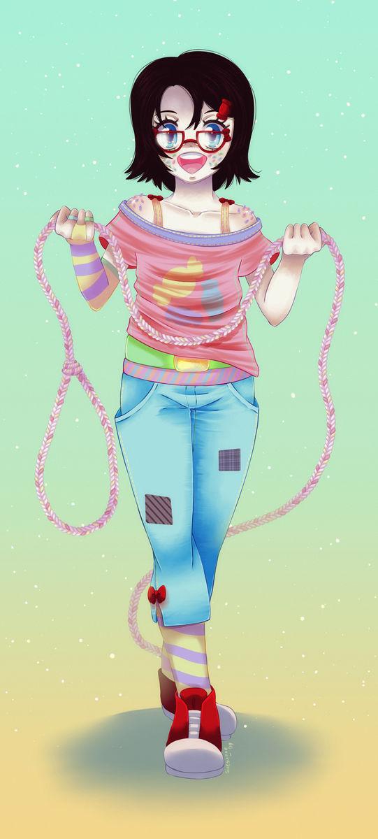 :C: Marshmallow Magical Girl