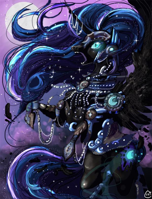 Nightmare Moon by CorrsollaRobot