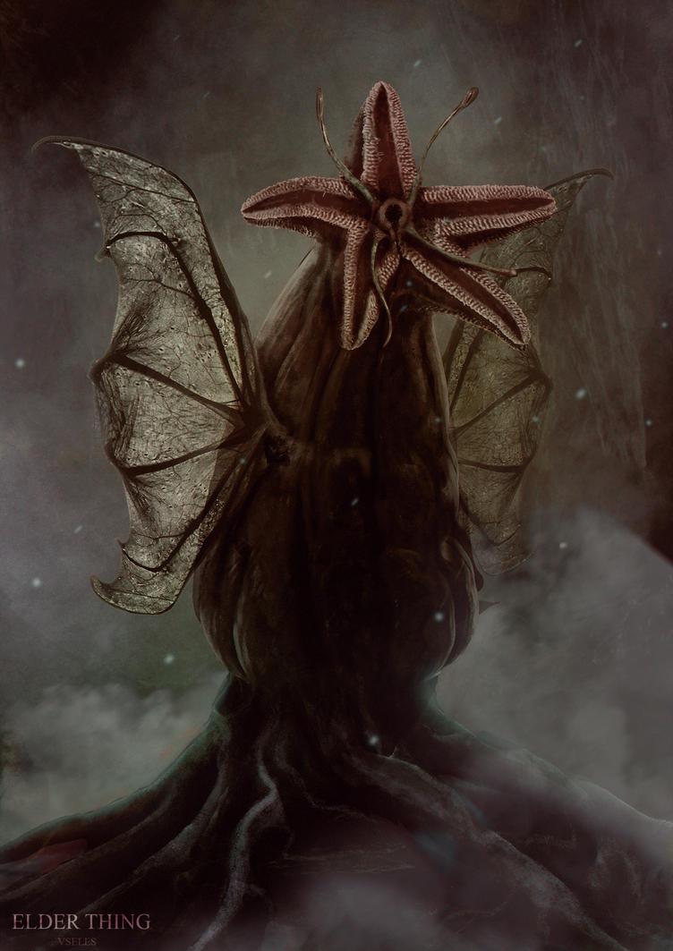 The Elder Thing by UselessHopeless