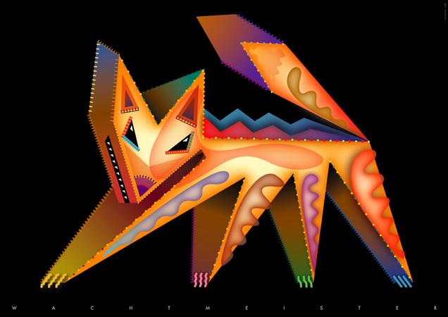 Vector Fox, 2008 by leavingsosoon
