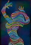 Waved Dancer Yarn 2