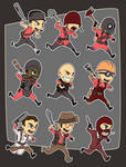 Chibi Fortress - Melee