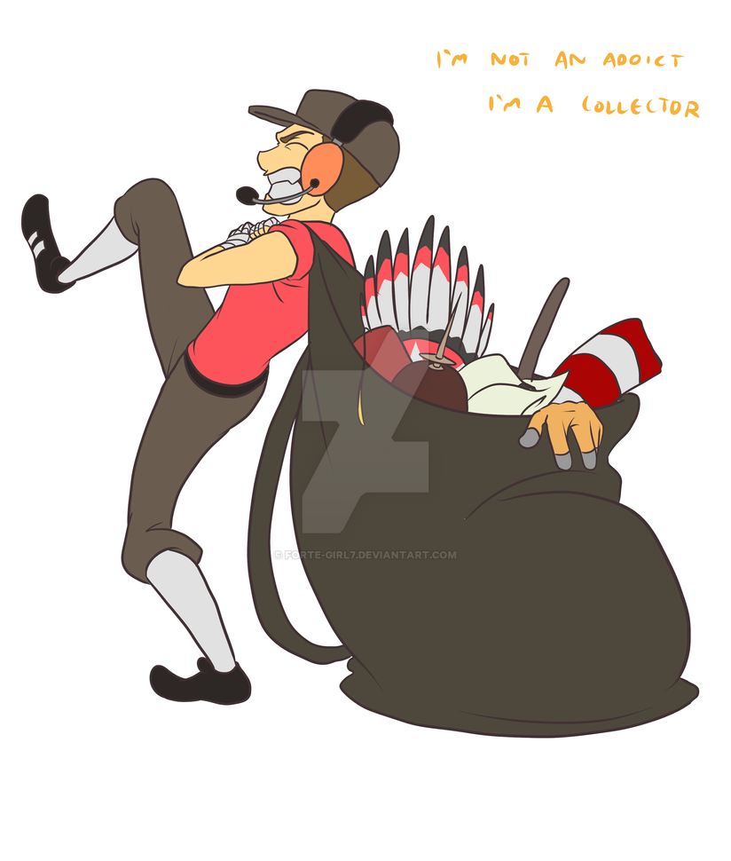 tf2 hat collector by forte girl7 on deviantart