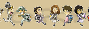 Stickers: Portal 2