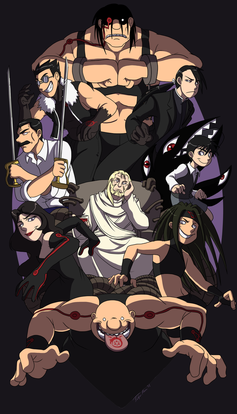 FMA: The Sins and Their Father by forte-girl7 on DeviantArt