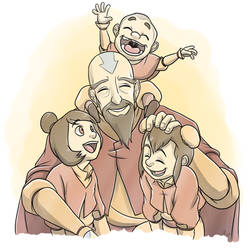 LoK: Happy Family by forte-girl7