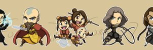 Stickers: Avatar Legend of Korra