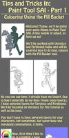 Tutorial: Colouring with the Fill Bucket in SAI