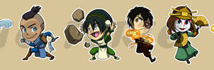 Stickers: Avatar The Last Airbender