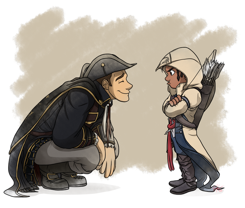 Assassin's Creed III: Sure You Will, Son by forte-girl7