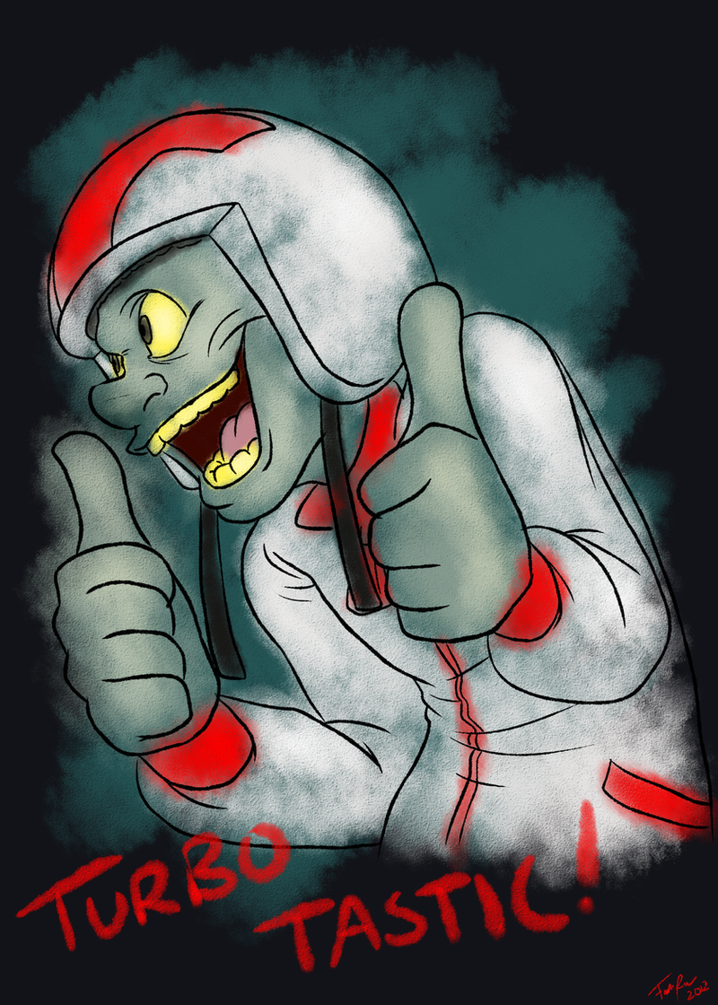 Wreck-It Ralph: Turbo-Tastic! by forte-girl7