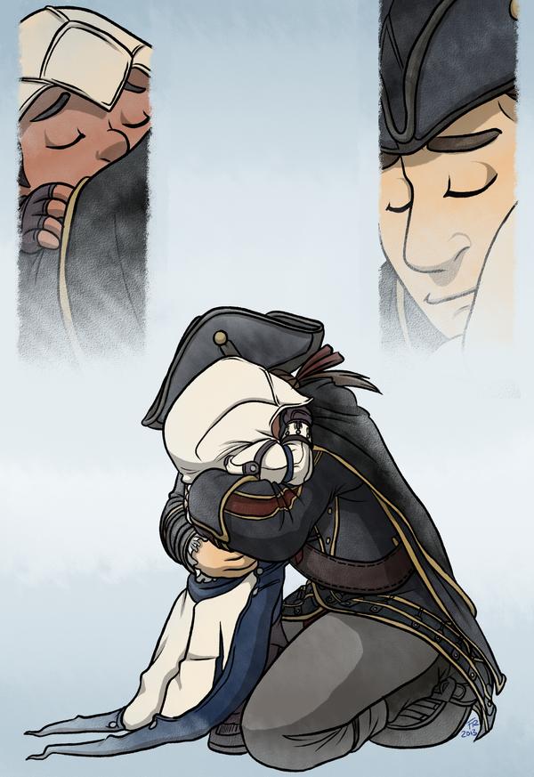 Assassin's Creed III: Hug by forte-girl7