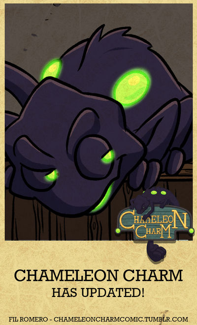 Chameleon Charm Has Updated! - Chapter 6 Page 4 by forte-girl7