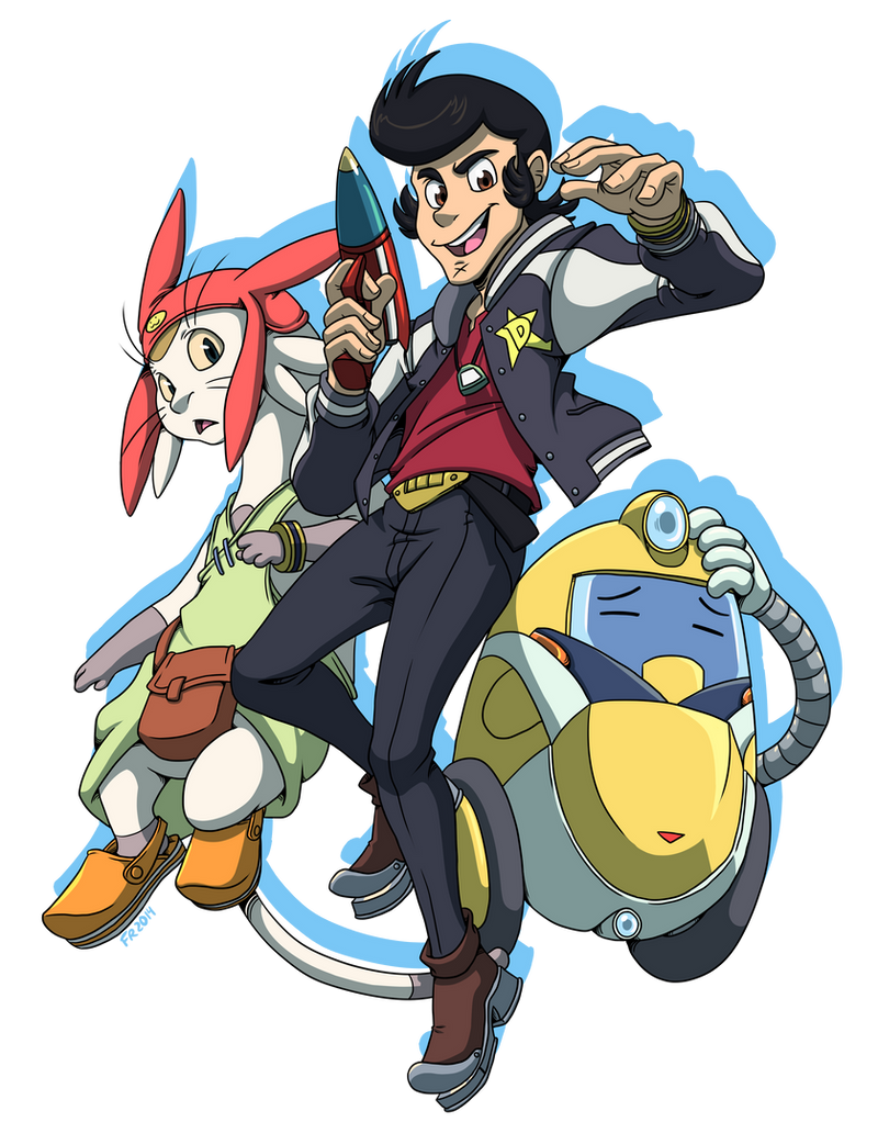 Space Dandy by Dericules on DeviantArt