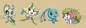 Stickers: Legendary Pokemon