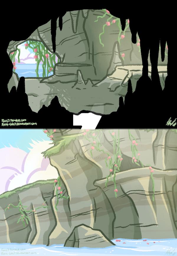 Gemsona: Prehnite's Cave by forte-girl7