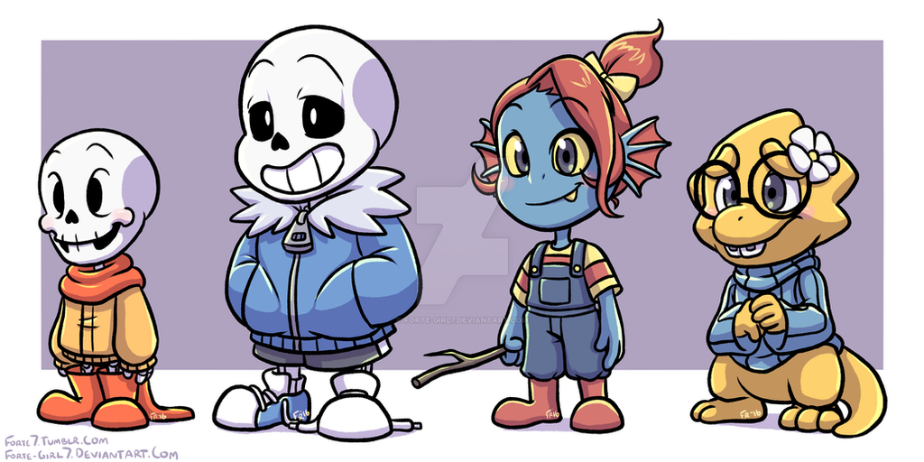 Undertale: Kids? by forte-girl7