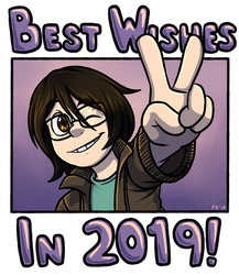 Best Wishes in 2019! by forte-girl7