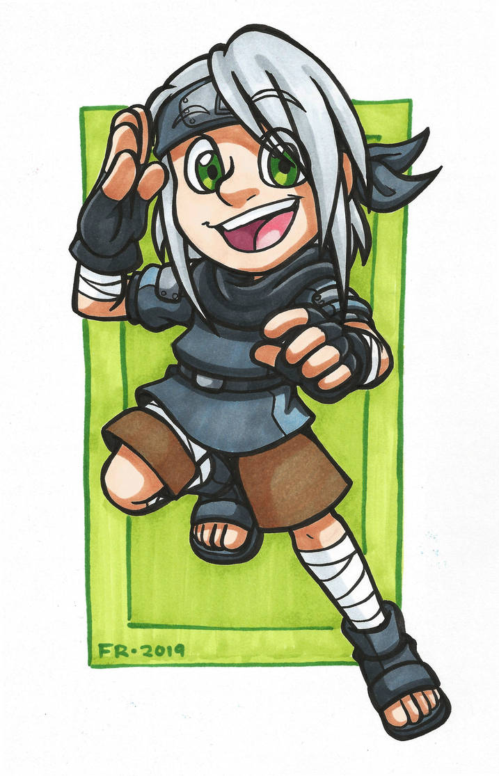 Naruto: Copic Kaede by forte-girl7