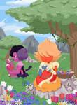 Steven Universe FanZine: Flowers